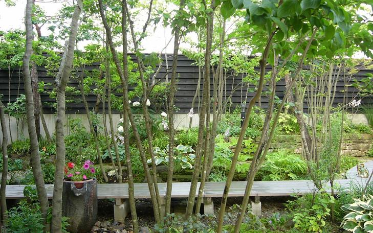 明日香村の庭