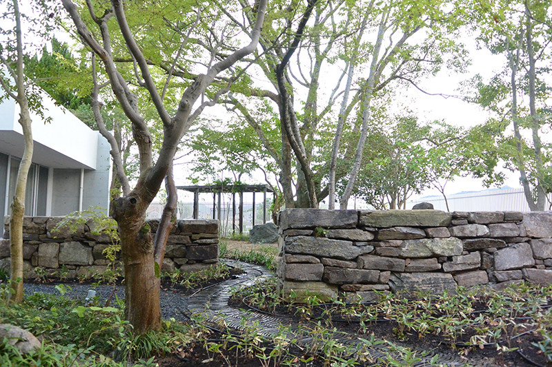 たつのの庭