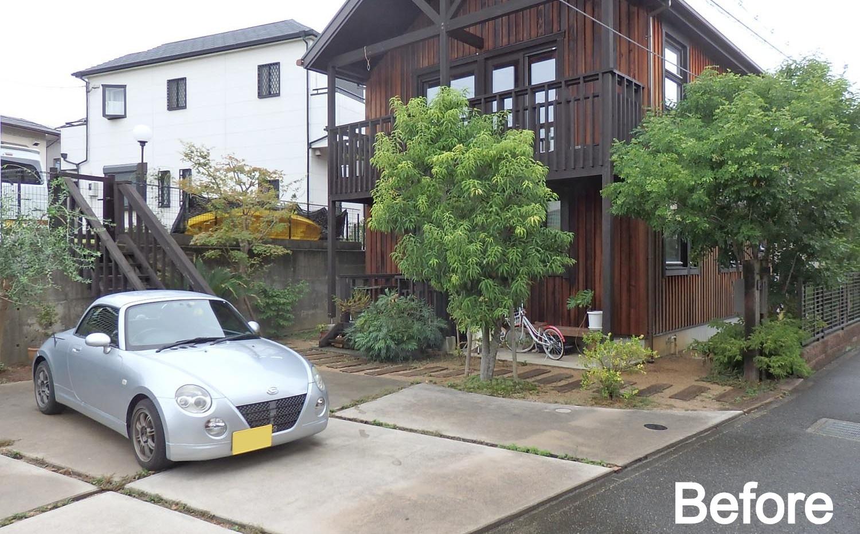 堺の庭 Before