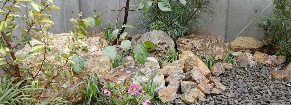 あやめ池の庭