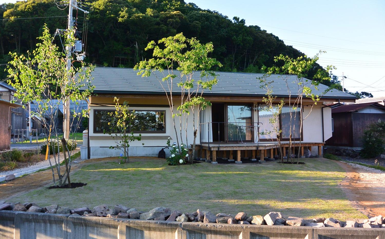 近江八幡の庭