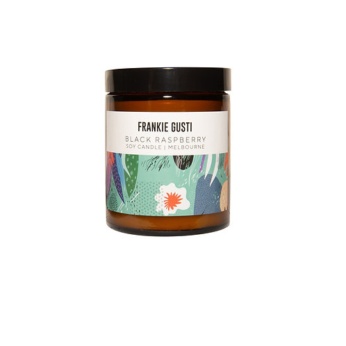 Frankie Gusti - Black Raspberry candle