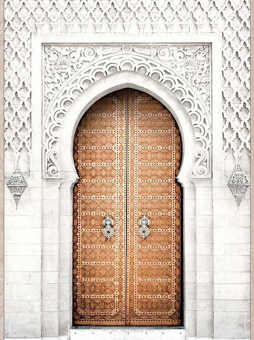 Casablanca Doorway Arch framed canvas - 62cm x 92cm