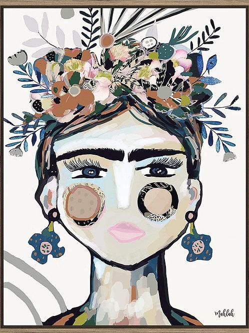 """Inkheart """"Frida"""" (light) 70cm x 90cm"""