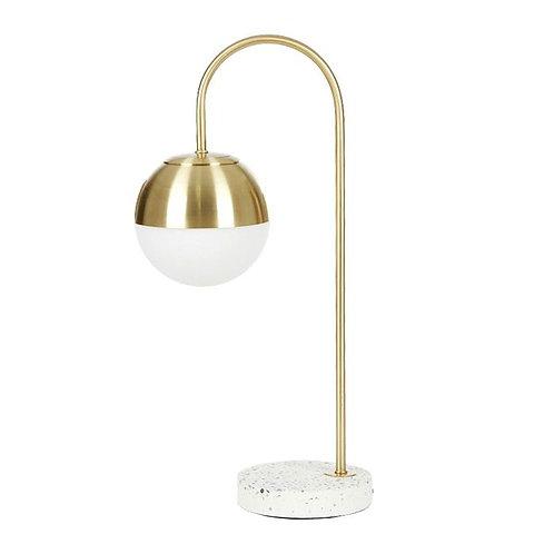Sawtell Terrazzo & gold lamp - Pre Order for April