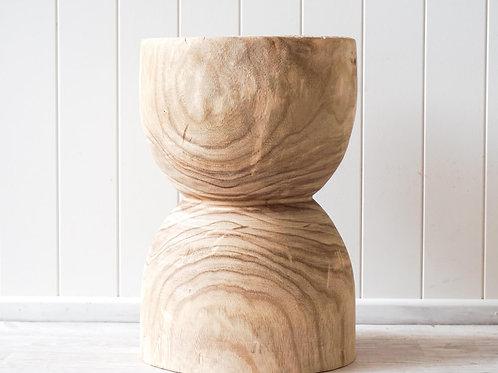 Knox timber low stool