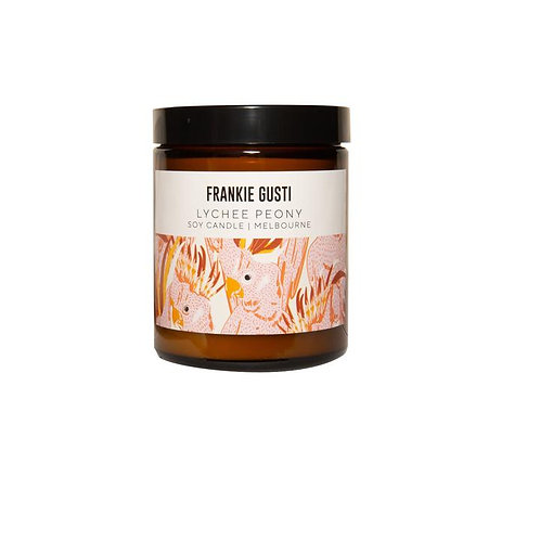 Frankie Gusti - Lychee Peony candle