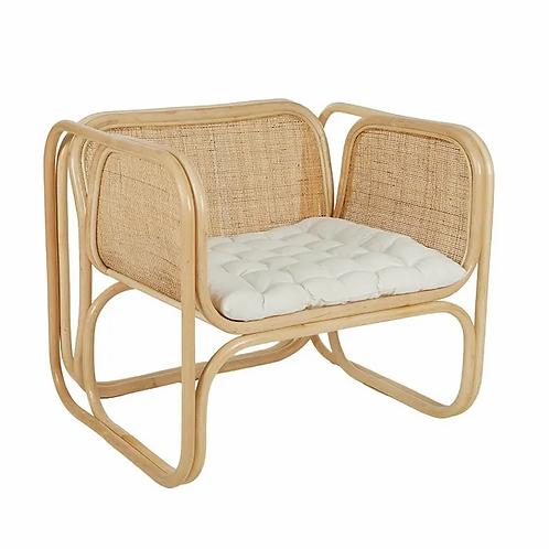 Montez rattan armchair