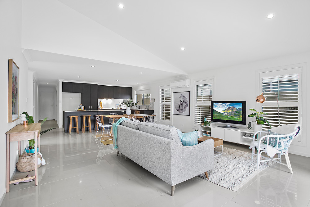 Red Ash Rd, Sapphire Beach. Styling by Sapphire Living Interiors. Photography by Chris Meder.