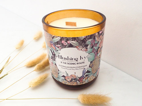 Blushing Ivy x Scenic Route - 80hr Aussie Bush Christmas candle