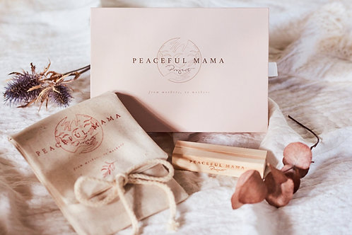 Peaceful Mama affirmation card bundle