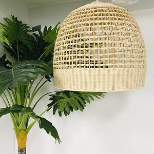 Kudu dome rattan light shade