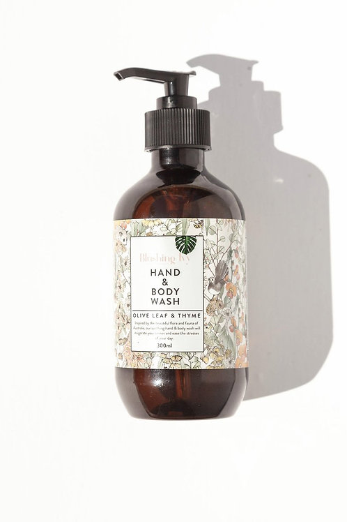 Blushing Ivy - Olive leaf & Thyme hand and body wash