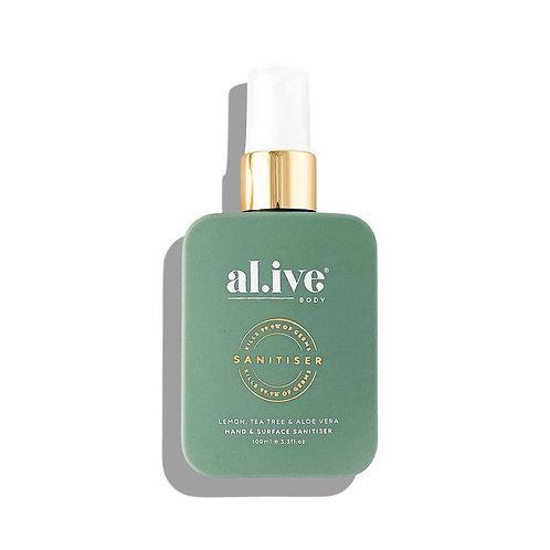 al.ive body® Lemon, Tea Tree & Aloe Vera Hand & Surface Sanitiser
