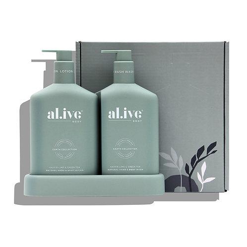 al.ive body® Duo - Kaffir lime & green tea