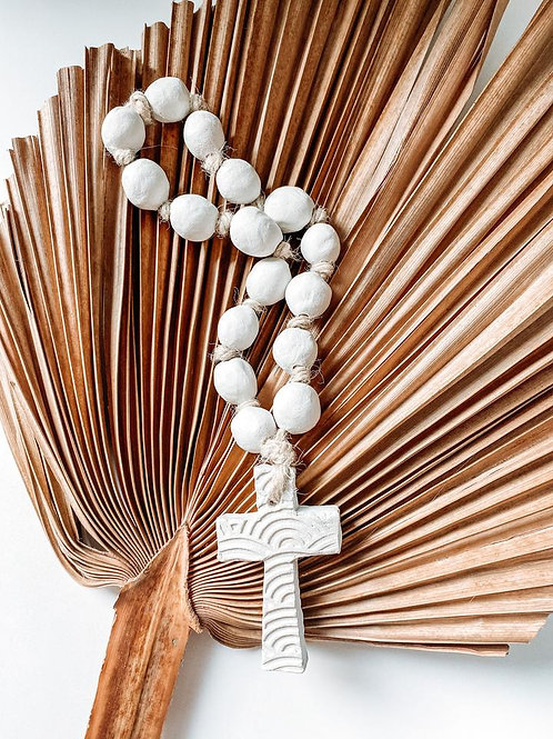 Saana clay necklace