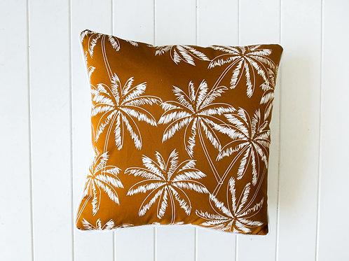 Rust Palms cushion