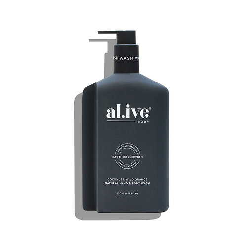 al.ive body® Hand / Body wash - Coconut & Wild Orange