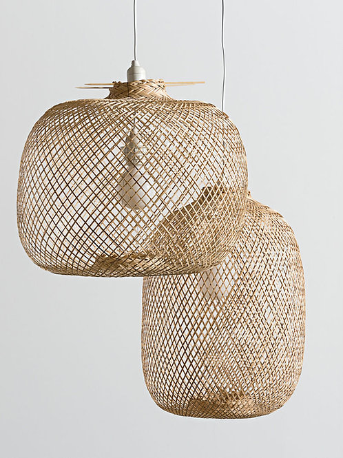 Laki bamboo pendant light