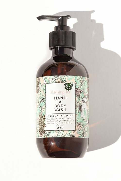 Blushing Ivy -  Rosemary & Mint hand and body wash