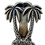 Thumbnail: Twin palms door knocker - 3 colours