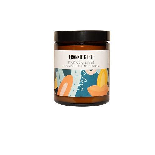 Frankie Gusti - Papaya Lime candle