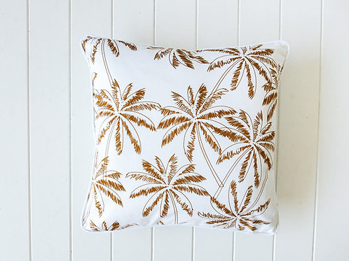 Mustard Palms cushion