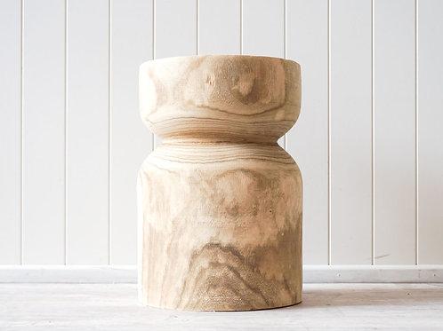Pax timber low stool
