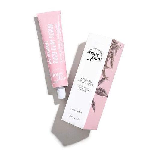 Dope Skin Co - Antioxidant Coco Clay Facial Scrub