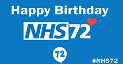 NHS Birthday Animated Logo by Evenlode Films and Productions