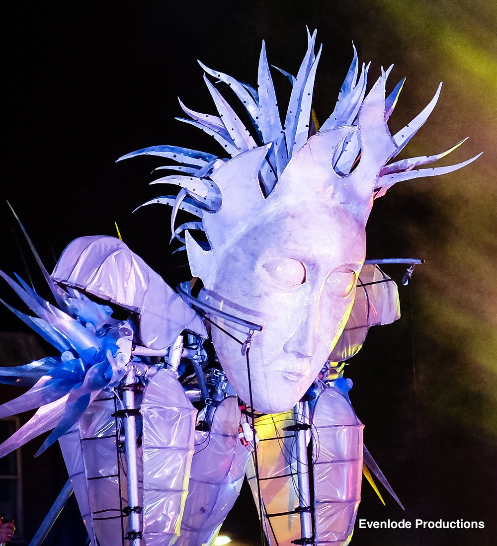 The Icy White Witch will be trying to stop the Christmas Lights in Cheltenham 2018.  A chilly showdown is promised by Evenlode Productions.  Commissioned by CheltenhamBID