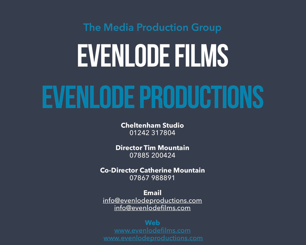 Evenlode Films and Production Services