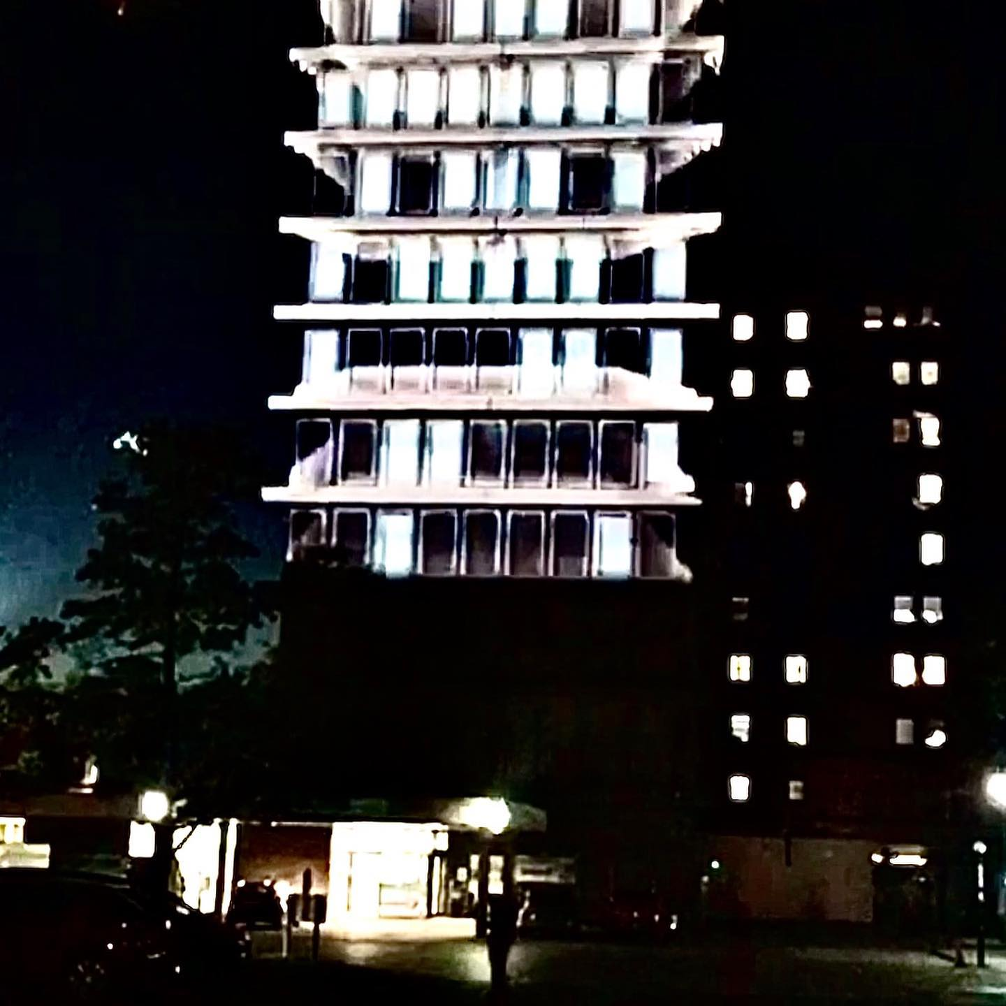 Evenlode Films and Productions - Gloucester Royal Hospital Projection Mapping.  Visit our website ht