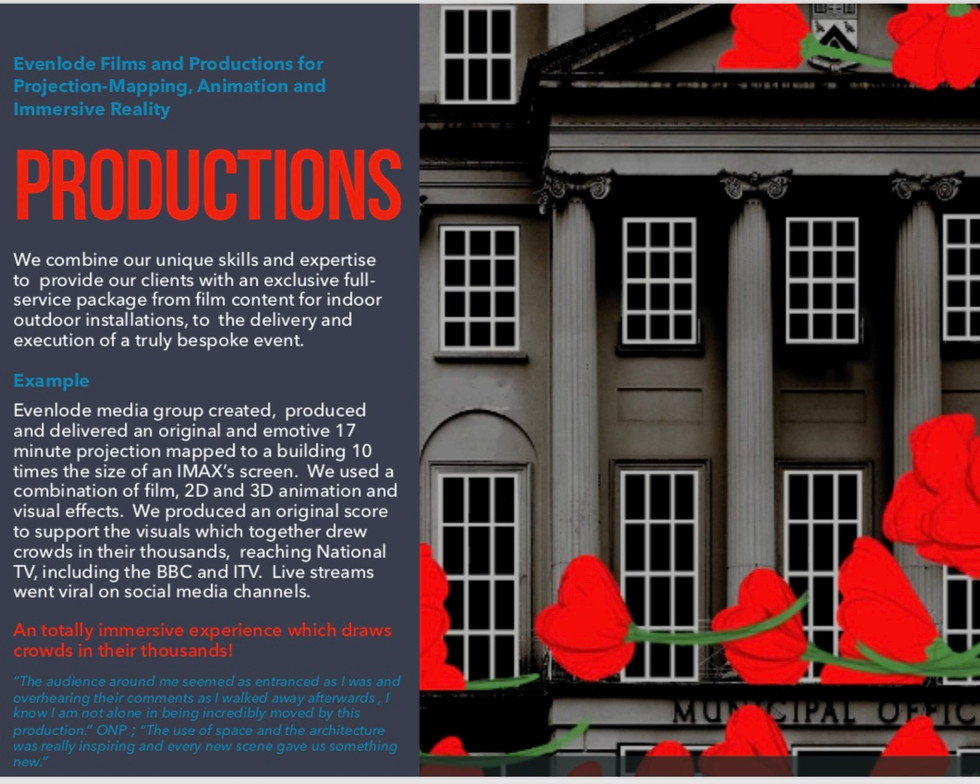 Evenlode Films and Production Services a