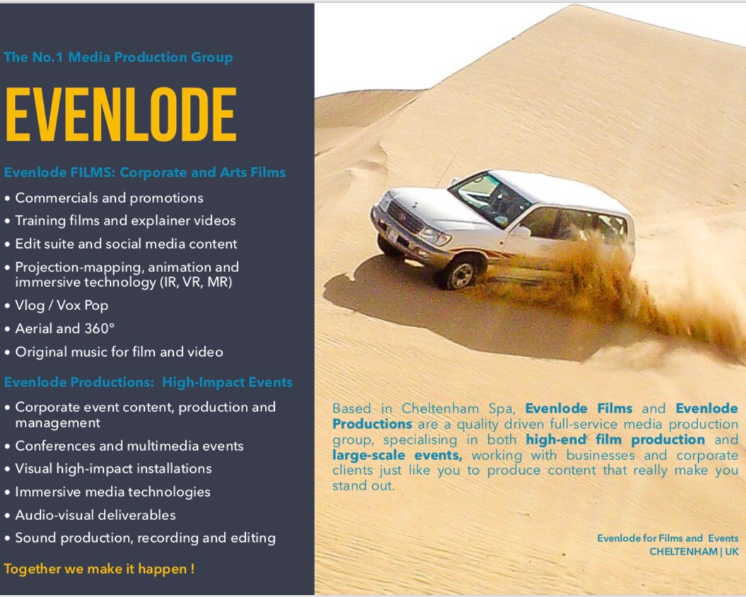 Evenlode Films and Productions - product