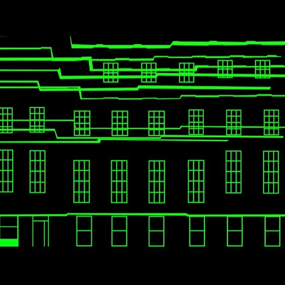 Code Breaking Projection Mapping by Evenlode Films and Productions to celebrate 101 years of codebre