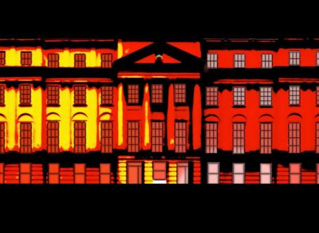 Announcing Cheltenham Remembers WW1 - DIGITAL ANIMATION - Cheltenham Municipal Offices 11-11-18