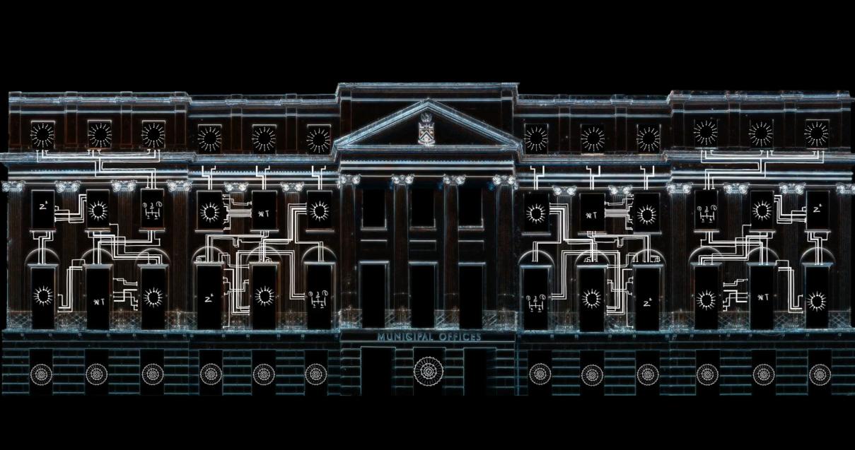 The Enigma Machine Blueprint animation