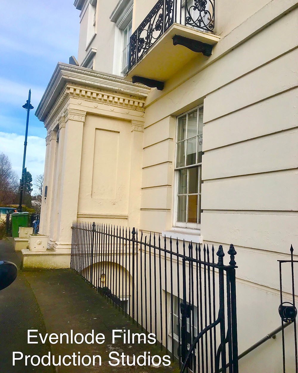 Evenlode Films and Productions.  Our new studios in Montpellier, Cheltenham.