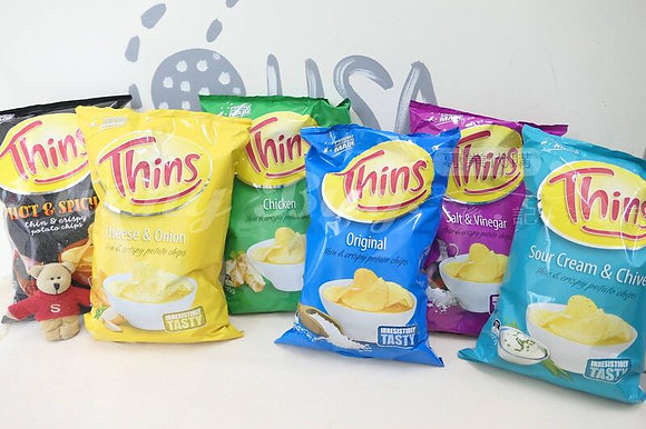 【Sunny Buy】 Thins Potato Chips 175g (6 Flavors)