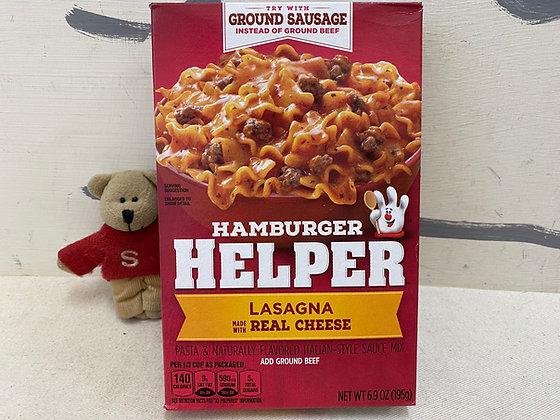 【Sunny Buy】Hamburger Helper / Lasagna 6.9oz (#20009)