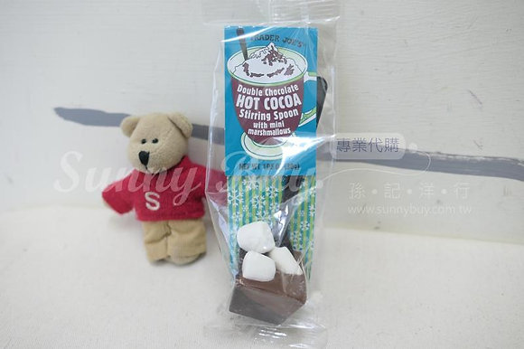 【Sunny Buy】Trader Joe's Hot Cocoa Stirring Spoon w. Marshmallows 1.05oz (#14611)