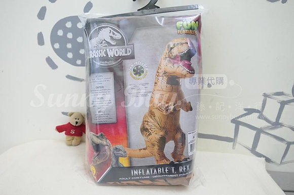 【Sunny Buy】Rubie's Adult Official Jurassic World Inflatable Dinosaur Costume