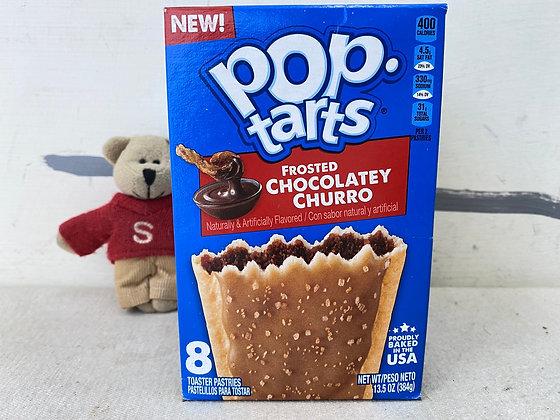【Sunny Buy】Pop-tarts Frosted Chocolatey Churro 8 Toasters 13.5oz (#20528)