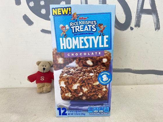 【Sunny Buy】Kellogg's Homestyle Rice Krispies Treats / Chocolate 12 bars