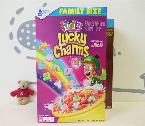 【Sunny Buy】Lucky Charms Fruity Cereal 21.2oz (#13241)12620)
