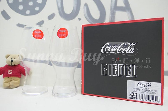 【Sunny Buy】 Riedel Coca-Cola Glass / Set of 2 / Clear