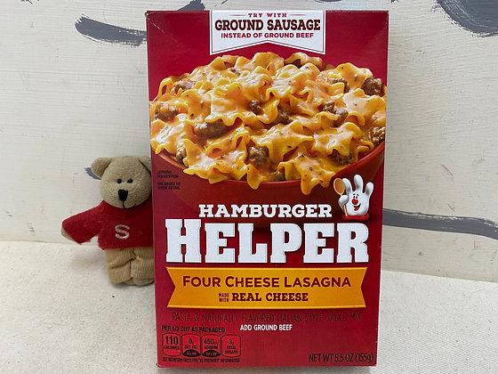 【Sunny Buy】Hamburger Helper / Four Cheese Lasagna 5.5oz (#20154)