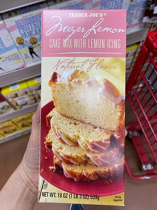 【Sunny Buy】Trader Joe's Trader Joe's Meyer Lemon Cake Mix with Lemon Icing 19oz