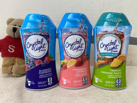 【Sunny Buy】Crystal Light Liquid Drink Mix 1.62 oz (Many Flavors)